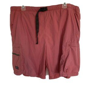 Men's Columbia Red / Pink Swim Trunks Size Large